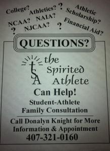 CB Athlete Info